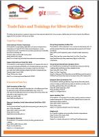 2017_Trade Fairs, Trainings SJ