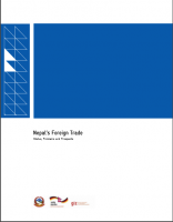 Nepal's foreign  Trade
